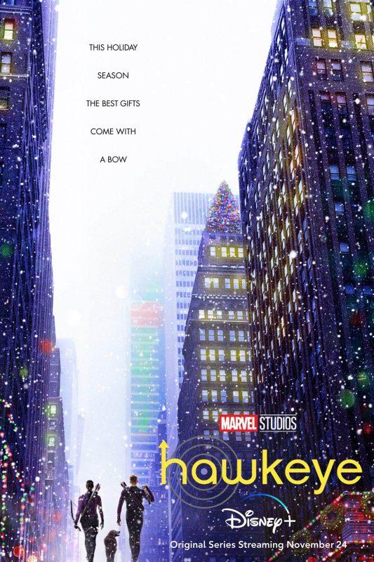 poster da serie hawkeye